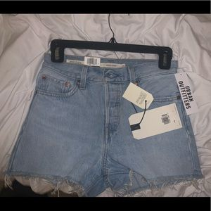 Levi's denim wedgie shorts, make offers!